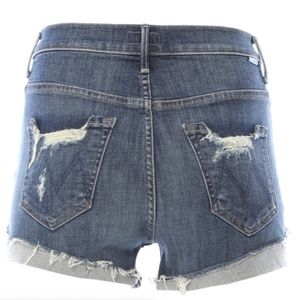 MOTHER JEANS HIGH WAISTED SHORT